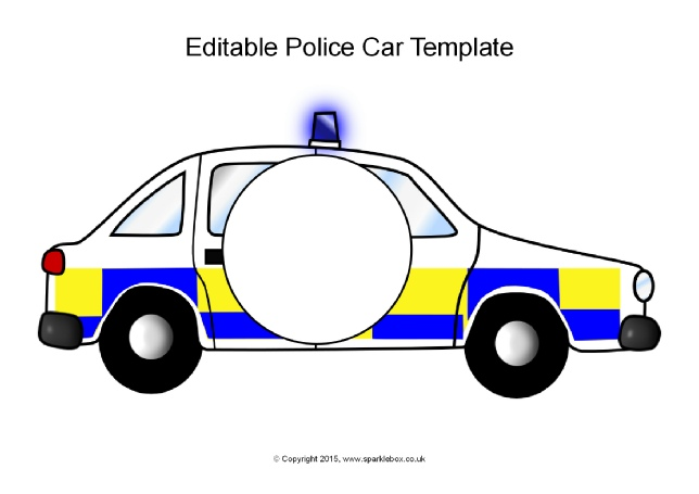 British police car clipart clip art black and white Emergency Services Primary Teaching Resources & Printables ... clip art black and white