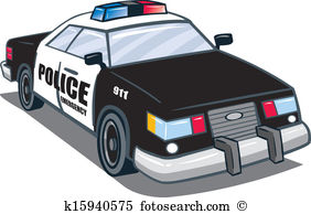 Patrol royalty free clip. British police car clipart