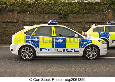 Uk clipartfest stock photo. British police car clipart