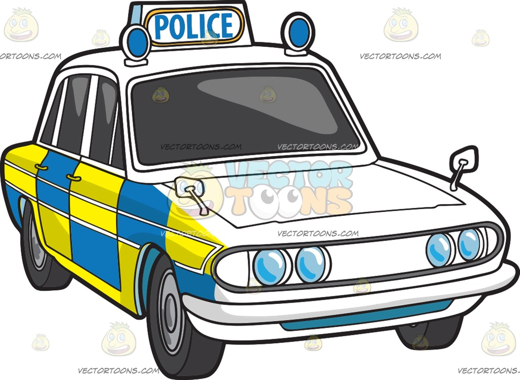 British police car clipart picture free A British Police Car Cartoon Clipart picture free