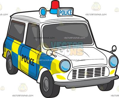 British police car clipart. Force cartoon a uk