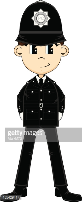 Classic British Police Officer Frame Vector Art | Getty Images picture library