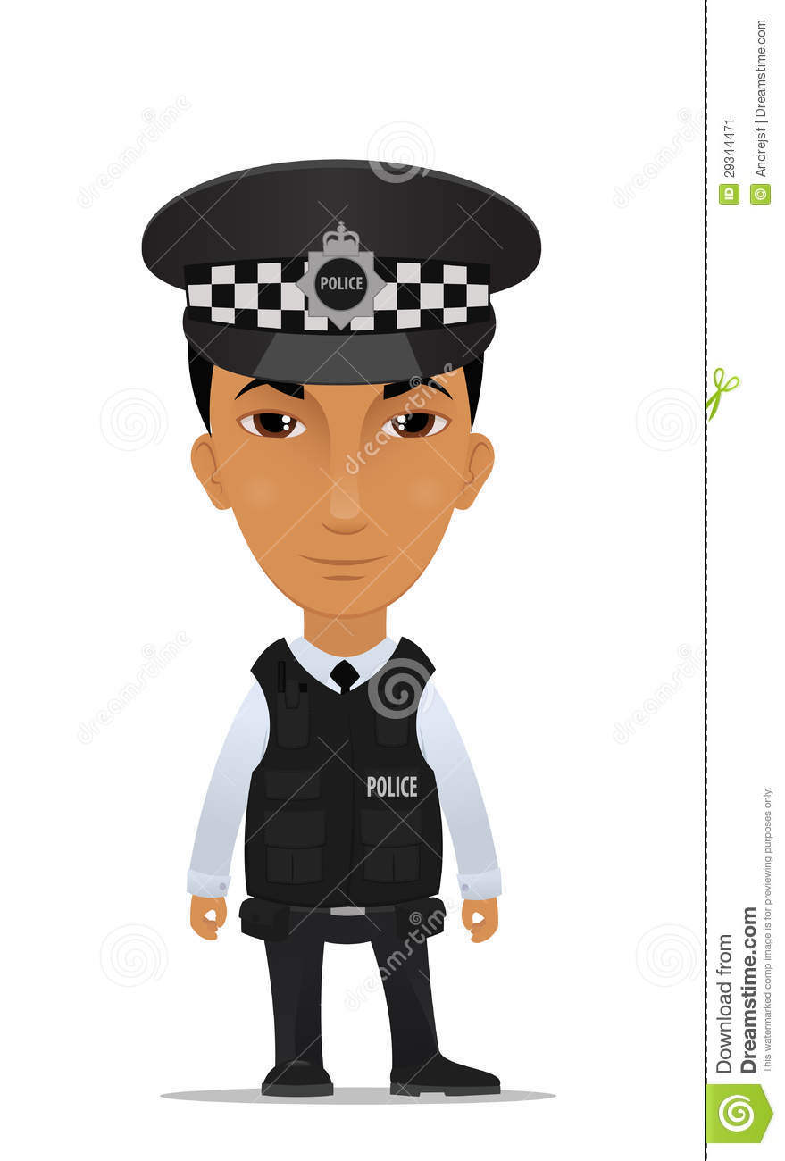 British police man clip art - ClipartFest svg library