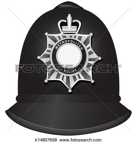 Clipart of british police helmet k18422763 - Search Clip Art ... image library