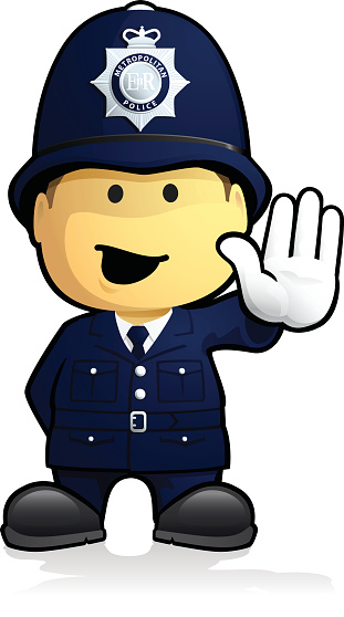 British police clipart clip royalty free British police man clip art - ClipartFest clip royalty free