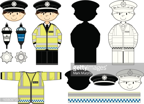British Policeman Clip Art Vector Art | Getty Images freeuse library