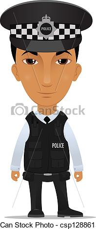 British police clipart vector transparent library Cartoon police officer clipart - ClipartFest vector transparent library