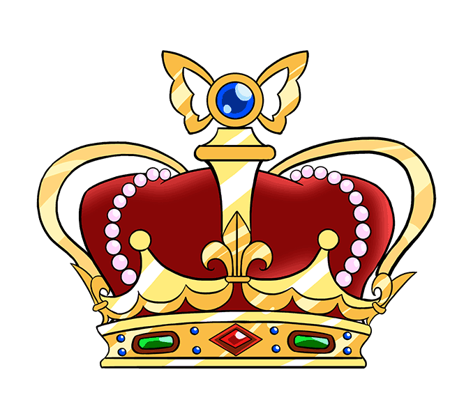 Kc royals crown clipart clip art stock Queens Crown Drawing at GetDrawings.com | Free for personal use ... clip art stock