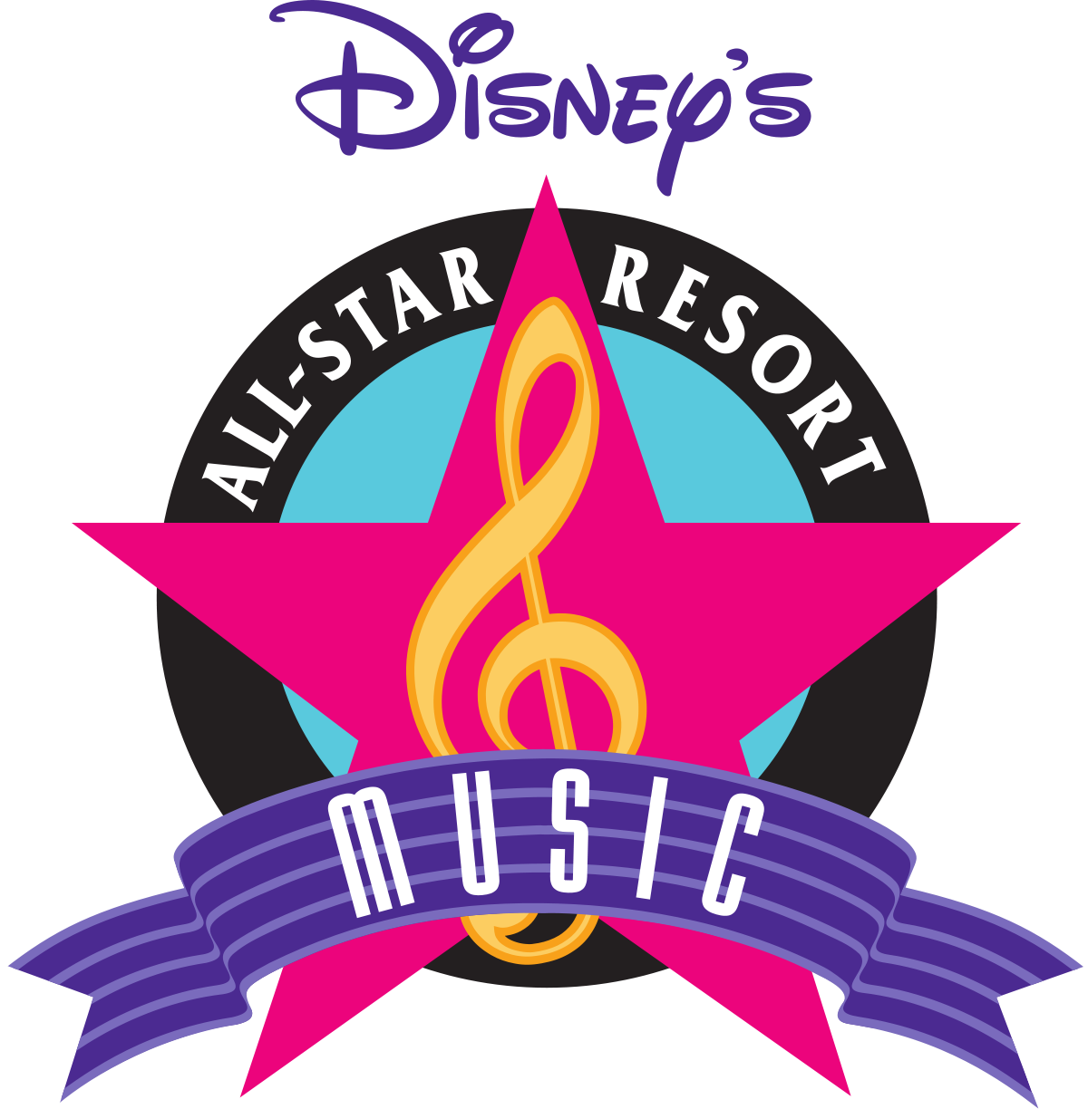 Broadway star clipart image library Disney's All-Star Music Resort - Wikipedia image library