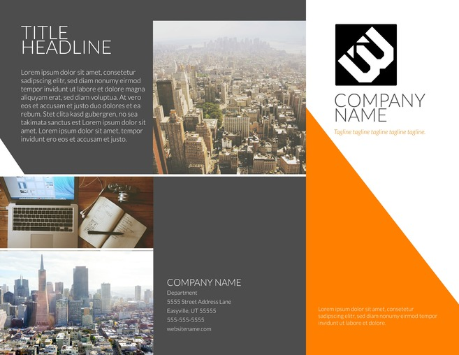 Brochure examples picture freeuse library 23 Free Brochure Templates & Examples - Lucidpress picture freeuse library