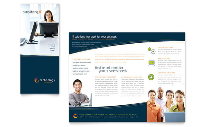 Brochure examples svg royalty free download Free Brochure Templates | Sample Brochures & Examples svg royalty free download