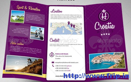 Brochure examples graphic royalty free download 50 Best Hotel Brochure Print Templates 2016 | Frip.in graphic royalty free download