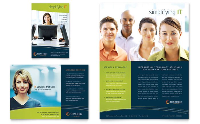Brochure examples svg free stock Free Brochure Templates | Sample Brochures & Examples svg free stock