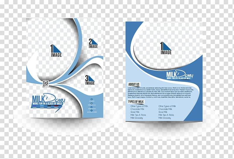 Brochure graphic design background clipart hd png black and white library Two white-and-blue boxes, Brochure Flyer illustration, Business ... png black and white library