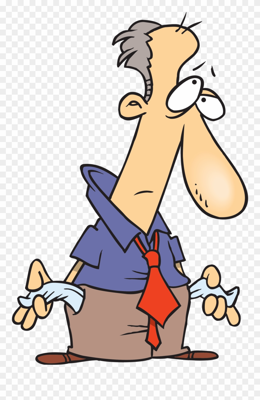 Broke clipart picture stock Broke - No Money Cartoon Clipart (#45952) - PinClipart picture stock