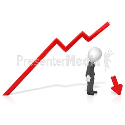 Broken arrow clip art. Businessman business and finance