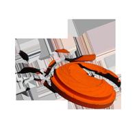 Broken clay target clipart jpg royalty free download Clay pigeons clipart - ClipartFest jpg royalty free download