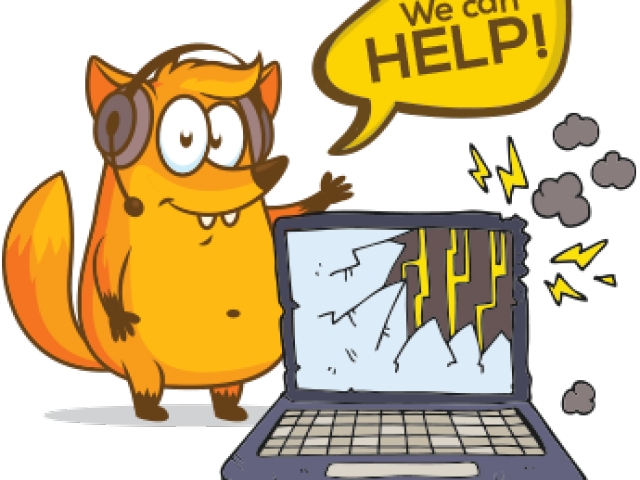 Broken computer clipart free graphic HD Cartoon Broken Computer , Png Download - Broken Computer Clipart ... graphic