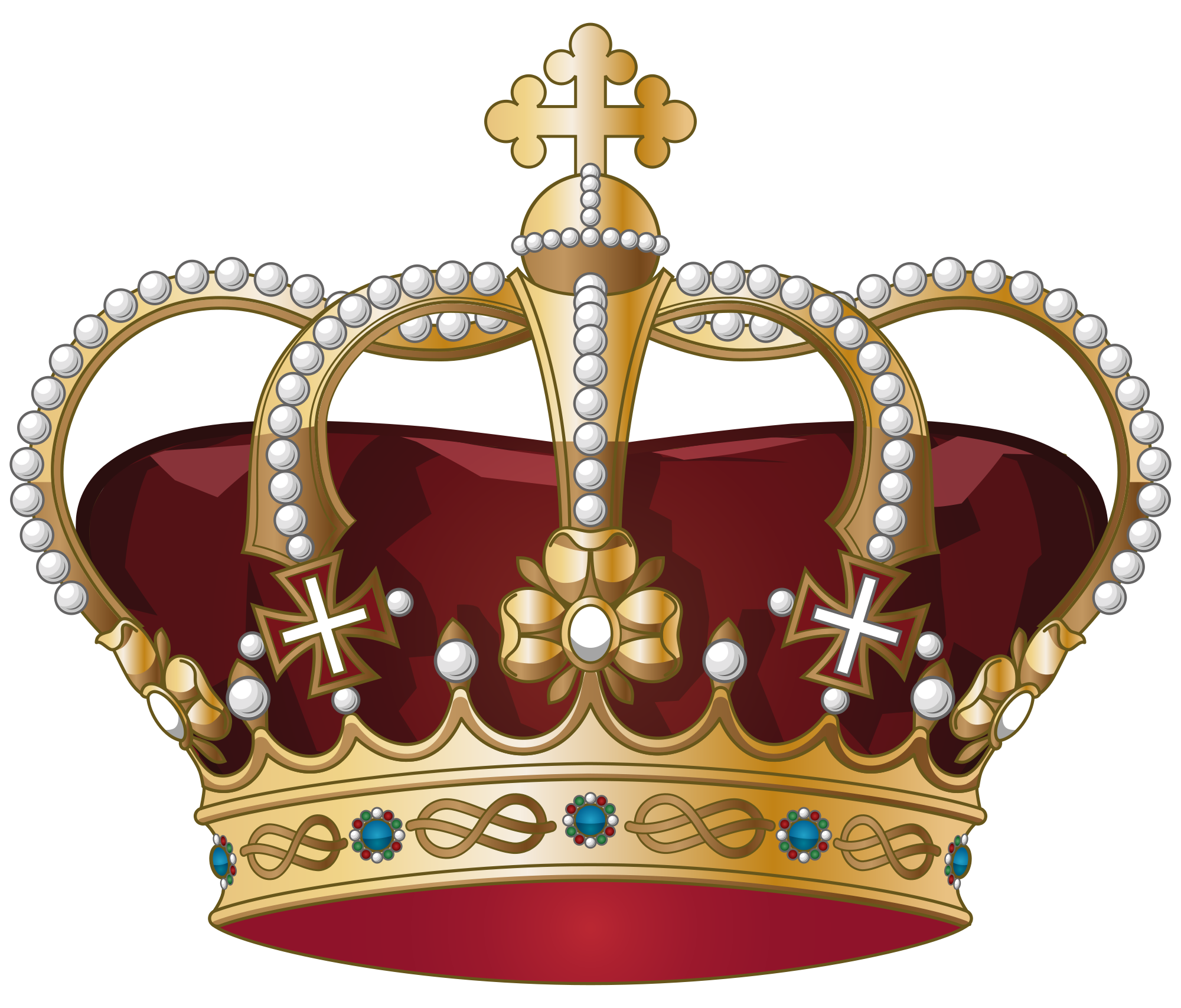 Broken crown clipart picture stock  picture stock