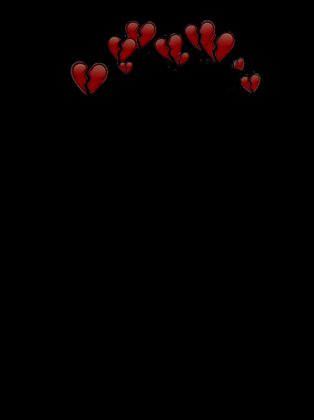 Broken crown clipart clip freeuse stock hearts broken emojis apple iphone crown brokenheart... clip freeuse stock