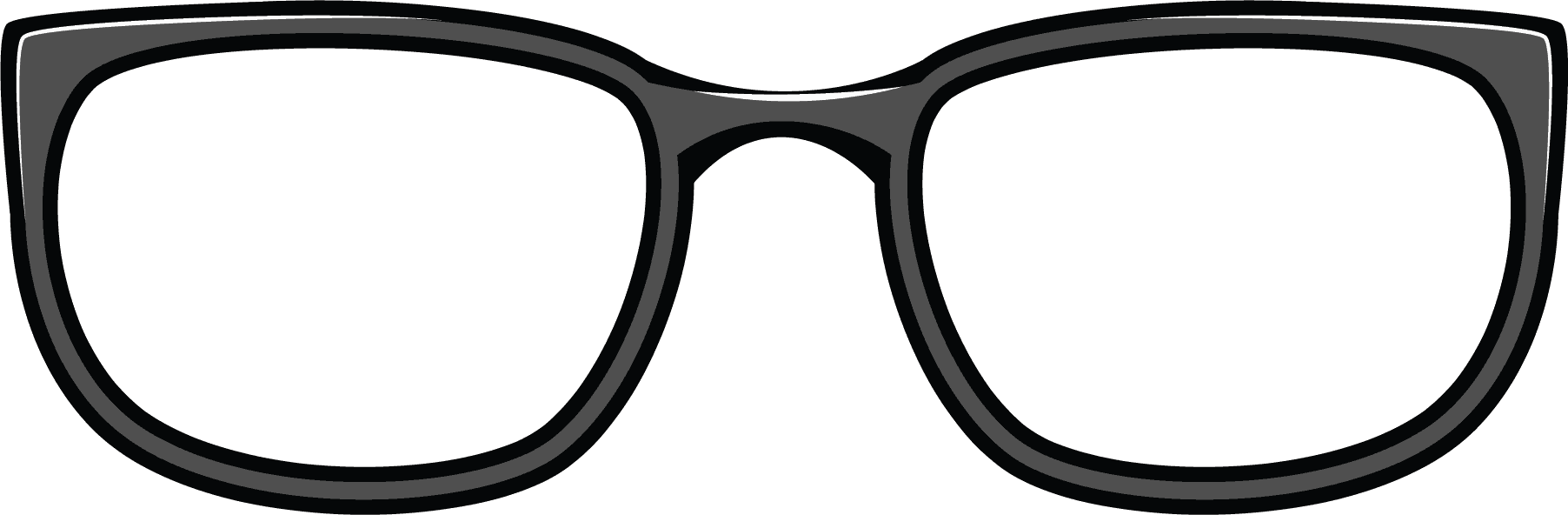 Glasses clipart transparent background