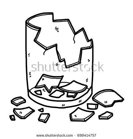Broken glass clipart picture black and white stock Broken glass clipart 1 » Clipart Station picture black and white stock