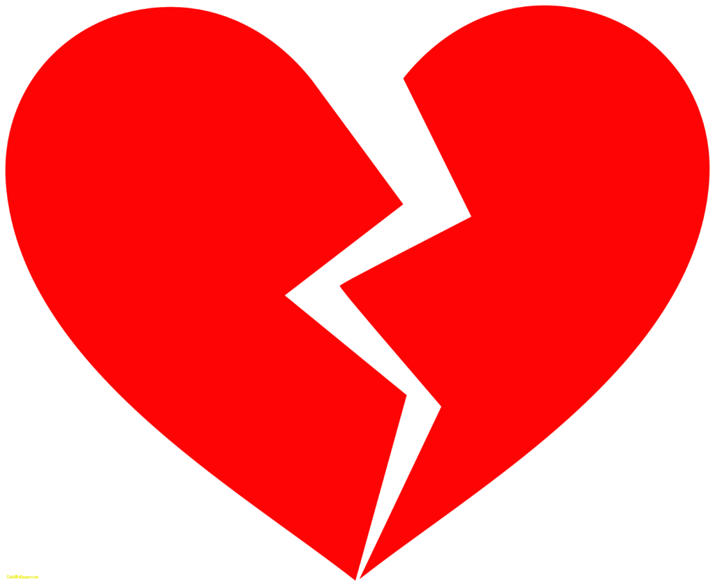 Broken heart clipart jpg free download Broken heart Takotsubo cardiomyopathy Clip art - heart 1024*839 ... jpg free download