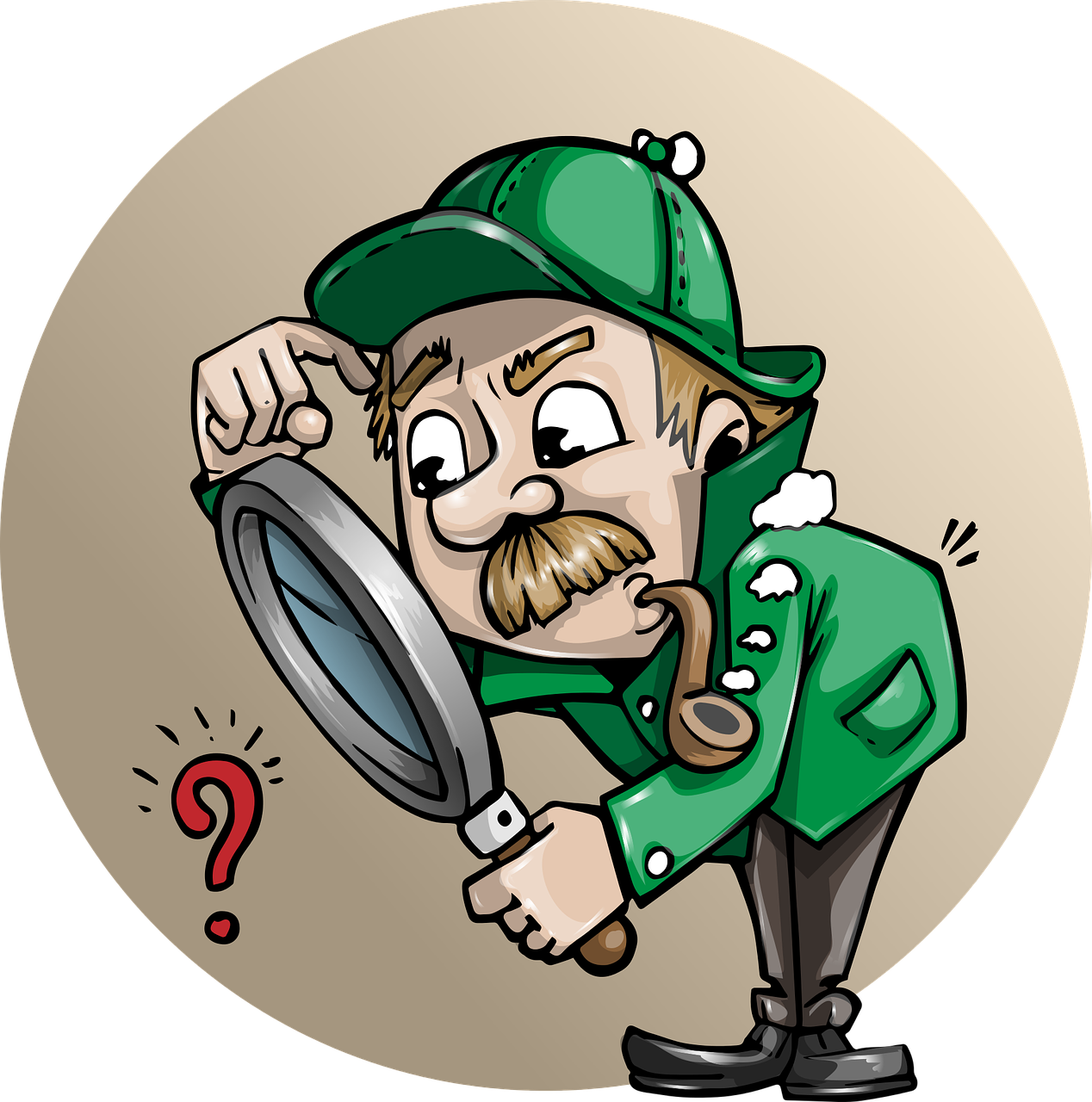Free clipart book detective clip art black and white What Should I Do If The House I Bought Has Problems? - Jumia House ... clip art black and white