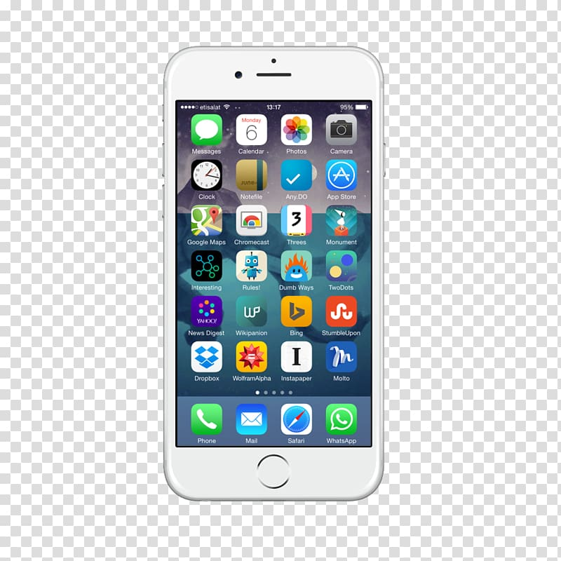 Iphone 6 icon clipart graphic library download Silver iPhone 6 displaying icons, iPhone 6 Plus iPhone 7 Plus iPhone ... graphic library download