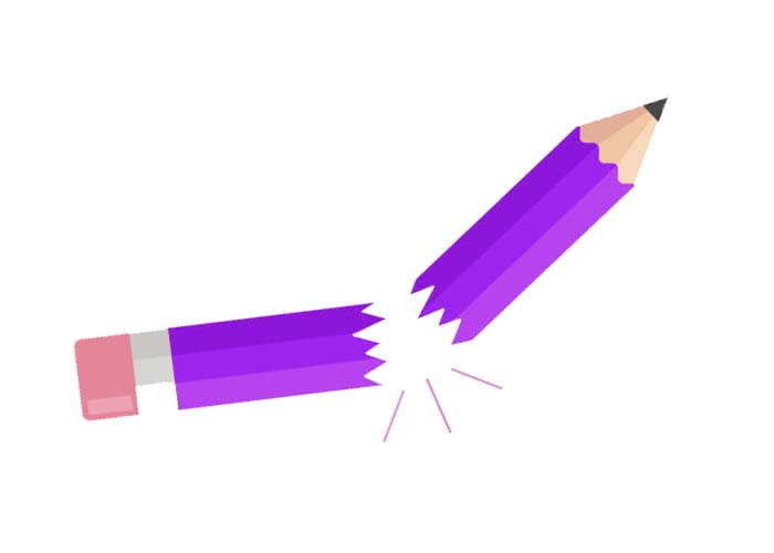 Broken pencil clipart vector free stock Blue Broken Pencil Clipart - Clipart1001 - Free Cliparts vector free stock