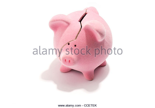 Broken piggy bank clipart father image royalty free Money Box Broken Stock Photos & Money Box Broken Stock Images - Alamy image royalty free