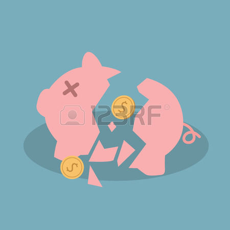 Broken piggy bank clipart father vector transparent stock Broken piggy bank clipart father free - ClipartFest vector transparent stock