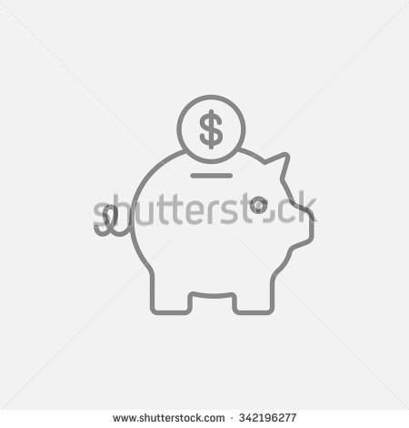 Broken piggy bank clipart father graphic transparent Piggy Bank Stock Images, Royalty-Free Images & Vectors | Shutterstock graphic transparent