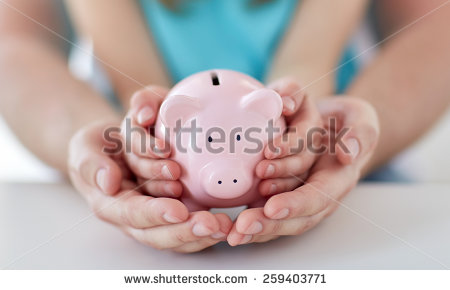 Broken piggy bank clipart father black and white library Piggy Bank Stock Images, Royalty-Free Images & Vectors | Shutterstock black and white library