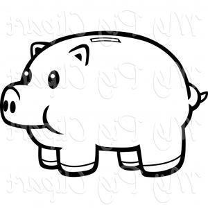 Illustration clipartidy swine of. Broken piggy bank clipart father free