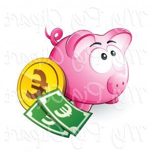 Broken piggy bank clipart father free jpg royalty free Free Broken Piggy Bank Clipart Illustration | ClipArTidy jpg royalty free