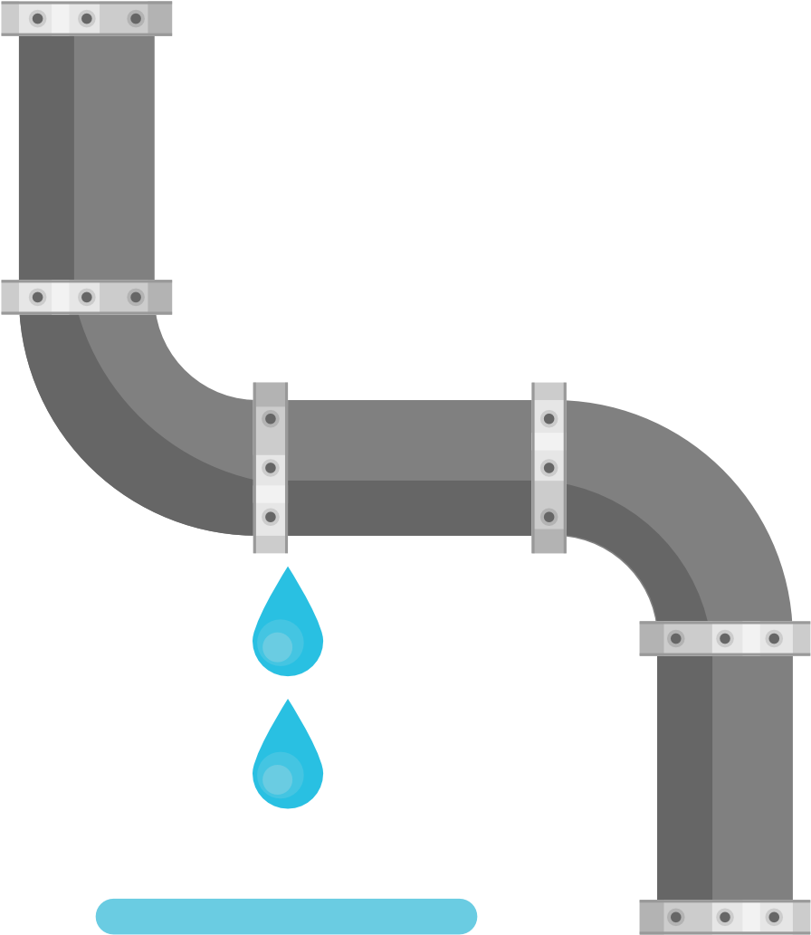Broken water pipe clipart image transparent download Broken Pipe With Leaking Water - Water Pipe Leak Clip Art ... image transparent download