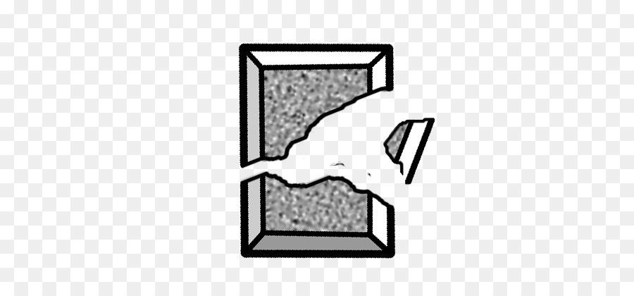 Broken rock clipart svg library download Black Line Background clipart - Mirror, Illustration, White ... svg library download