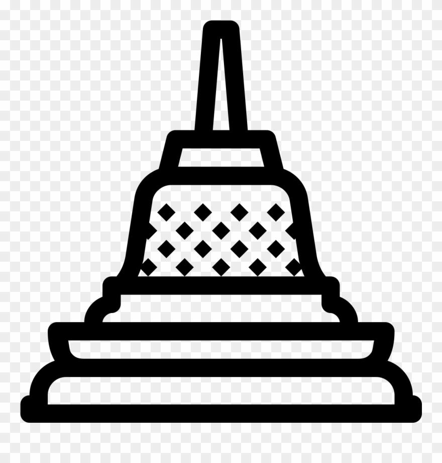 Broken temple clipart graphic Temple Clipart Borobudur - Candi Borobudur Icon Png Transparent Png ... graphic