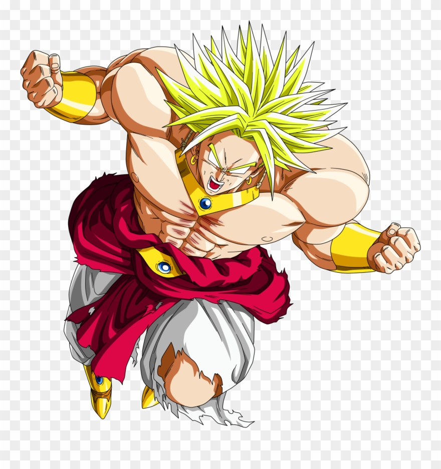 Broly clipart clipart royalty free download Comment Picture - Broly Dragon Ball Png Clipart (#538021) - PinClipart clipart royalty free download