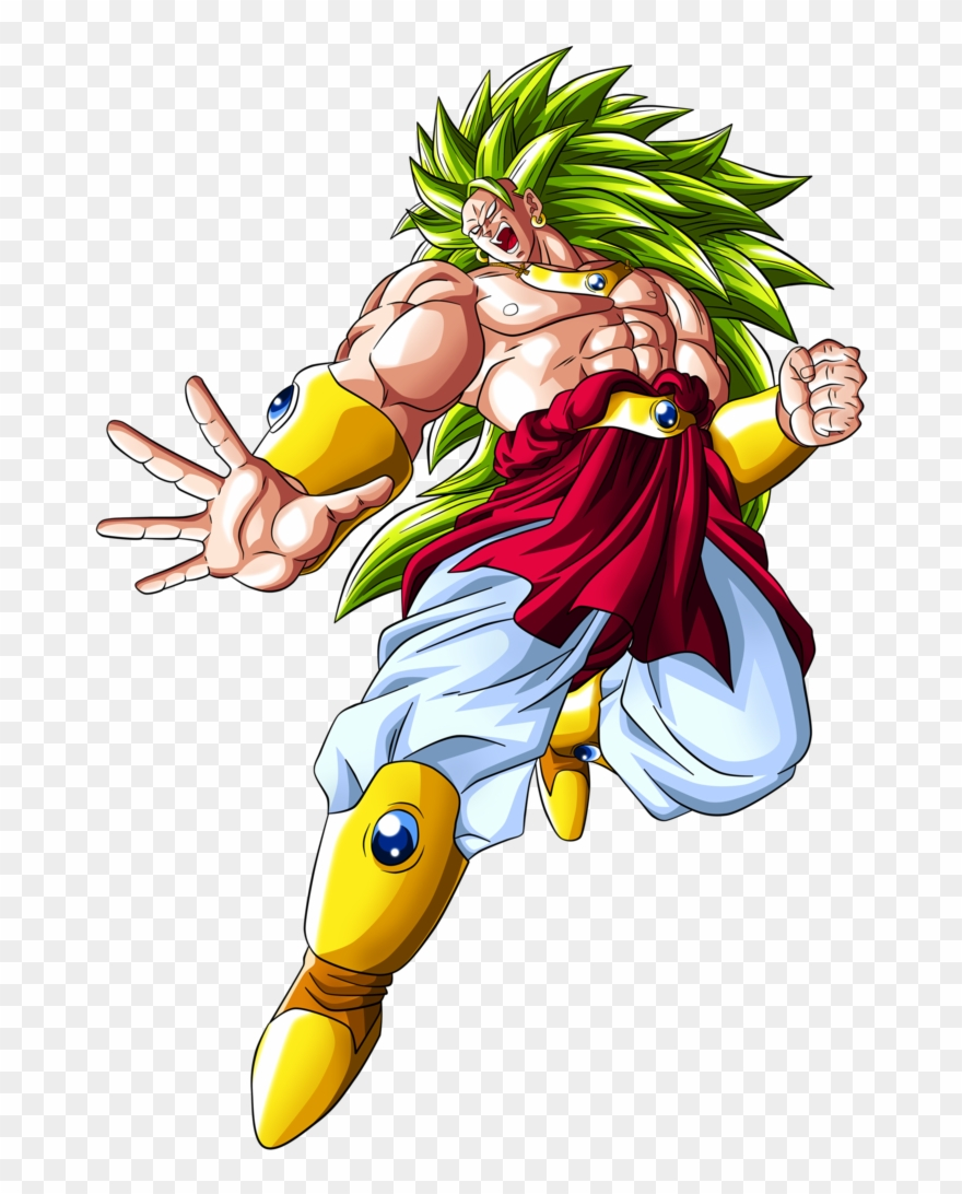 Broly clipart graphic free Vector Freeuse Library Broly Transparent Kakarot - Goku Legendary ... graphic free