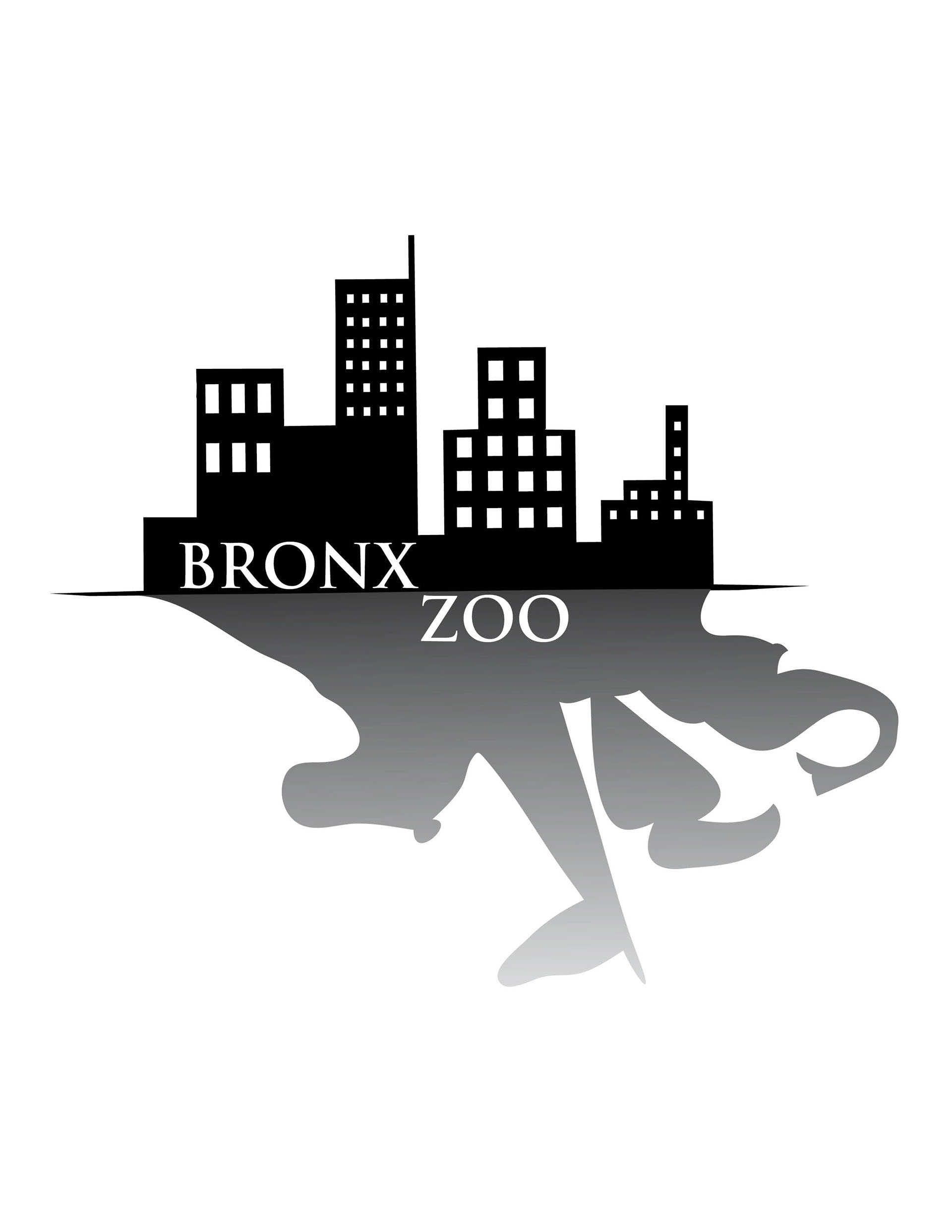 Bronx zoo clipart png stock Bronx Zoo Logo Practice on Behance png stock