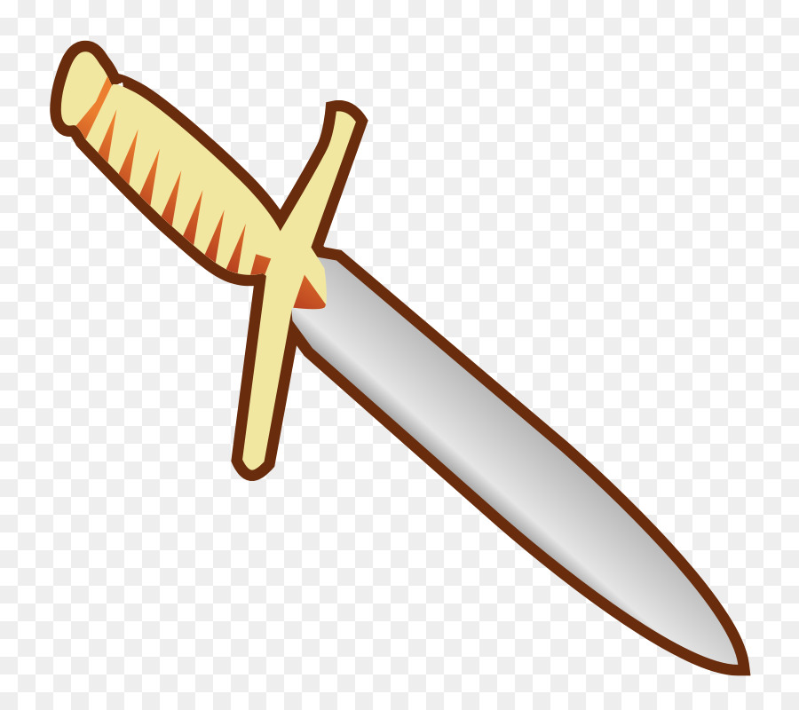 Bronze sword clipart clip art royalty free library Knife Dagger png download - 800*800 - Free Transparent Knife png ... clip art royalty free library