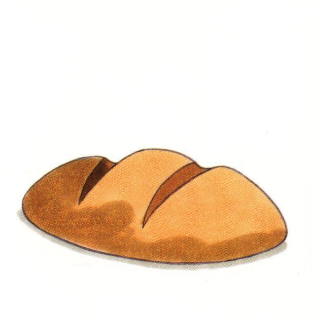Brood clipart vector freeuse Clipart brood | spora - sowing- bread - Eten, Eten en drinken en Voeding vector freeuse