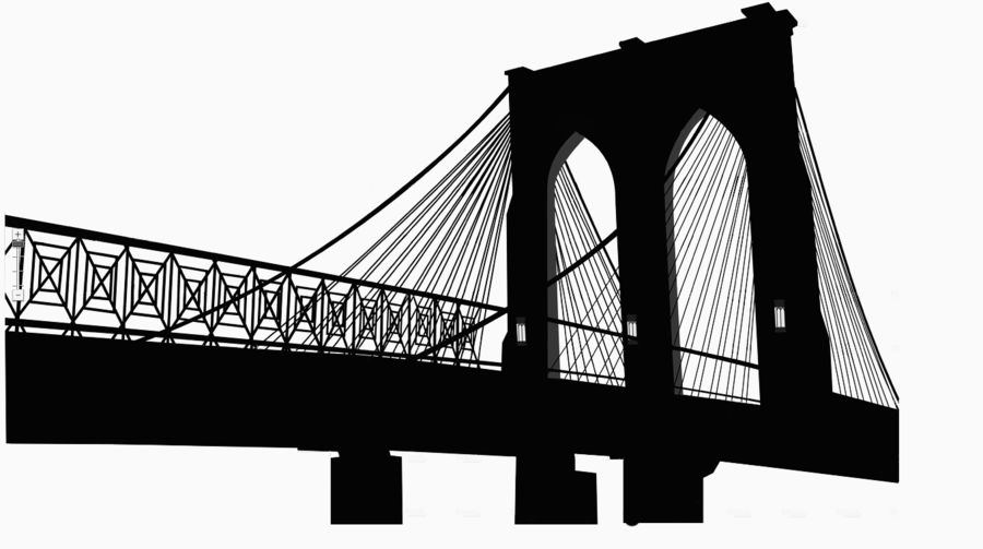 Brooklyn bridge clipart png download Building Cartoon clipart - Building, Illustration, Drawing ... png download