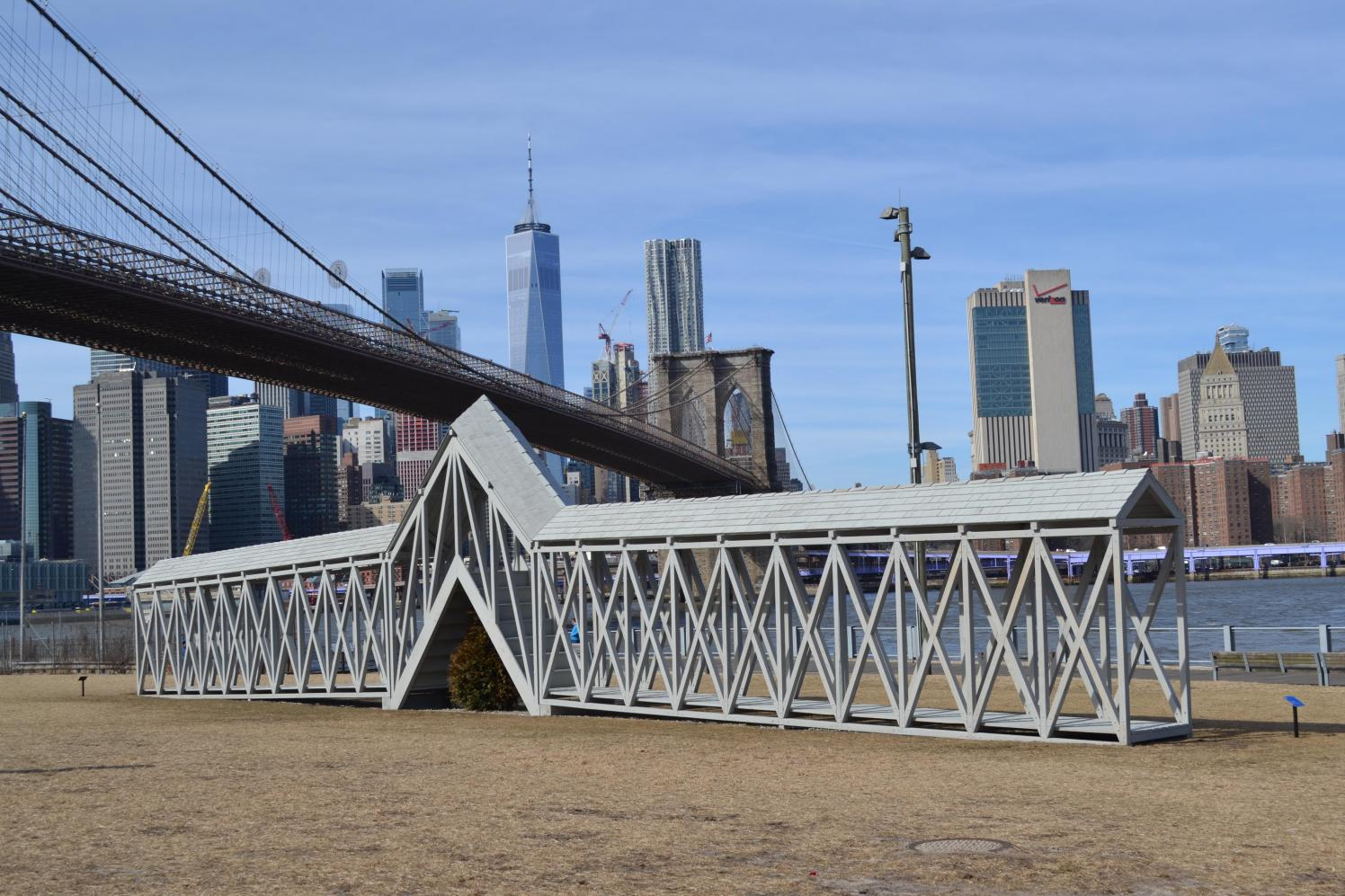 Brooklyn bridge park clipart vector library Public Art - Brooklyn Bridge Park vector library