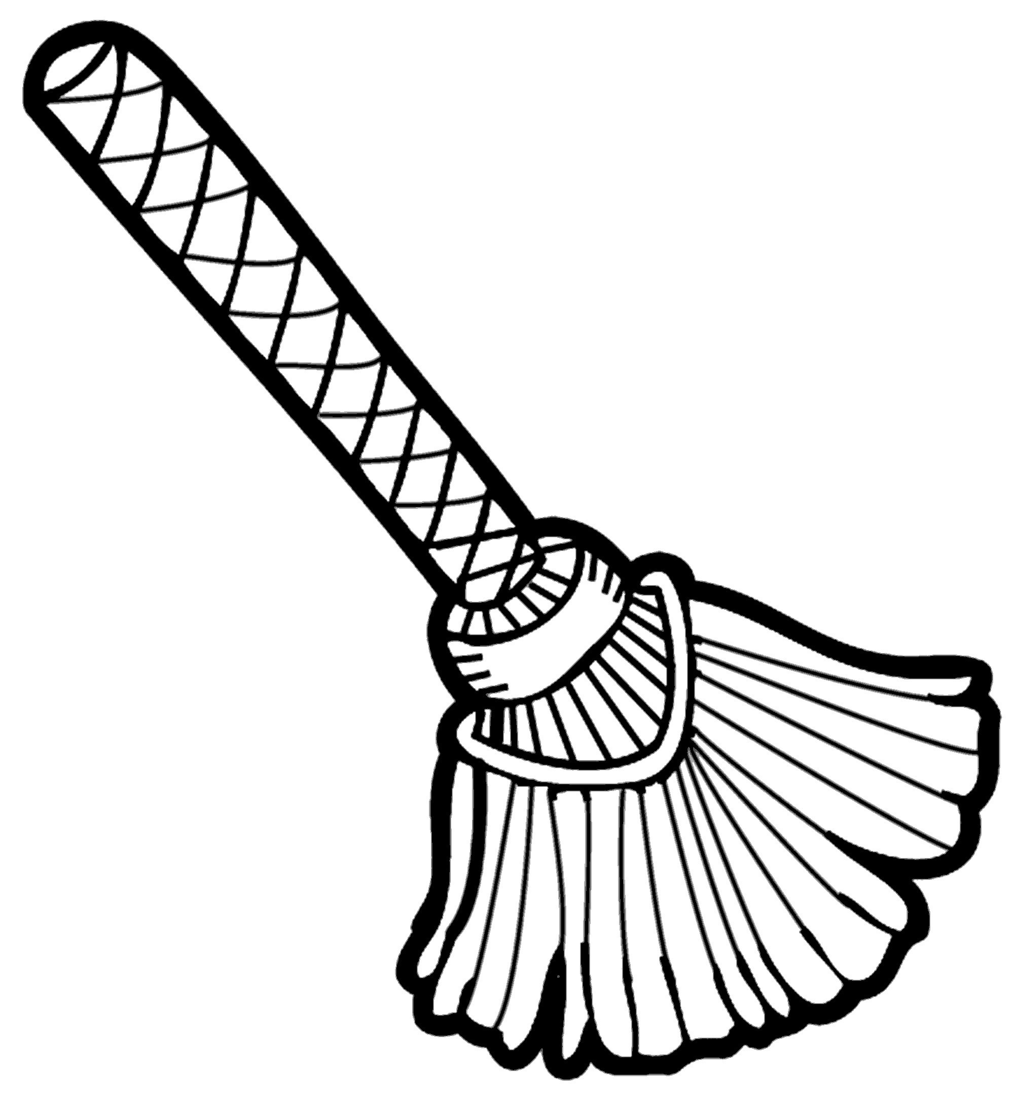 Broom and dustpan clipart black and white svg stock Broom and dustpan clipart black and white 6 » Clipart Portal svg stock