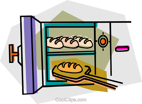 Brot backen clipart picture free download Brot backen im Ofen Vektor Clipart Bild -vc016647-CoolCLIPS.com picture free download