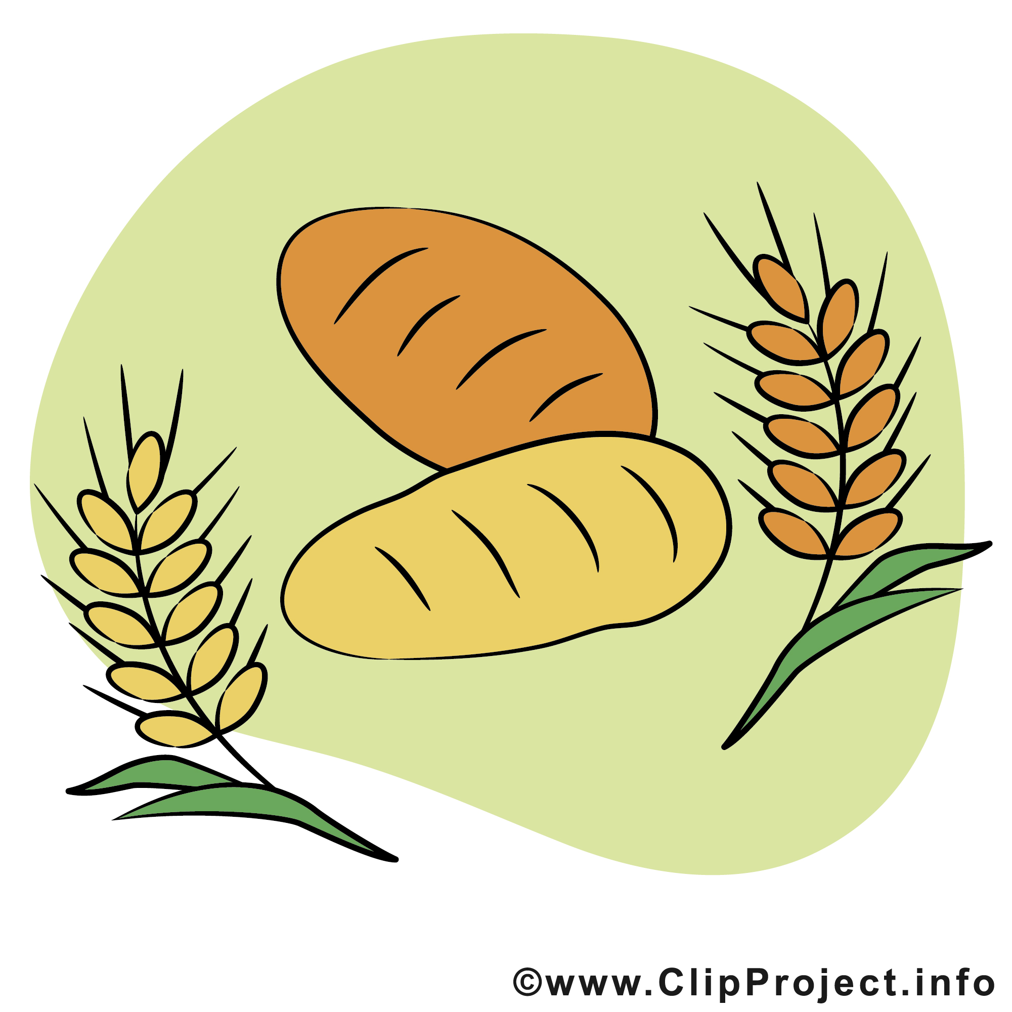 Brot backen clipart jpg freeuse download Brot clipart - ClipartFox jpg freeuse download