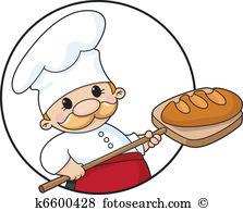 Die bilder jesus ostern. Brot backen clipart